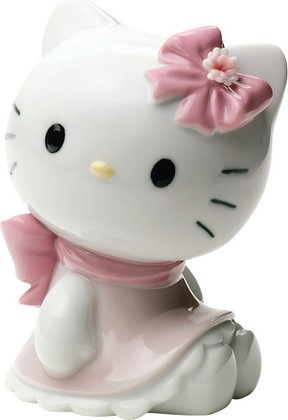 Статуэтка фарфоровая Hello Kitty! 10см NAO 02001663