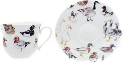 "Чайная пара для завтрака ""Водоплавающие"" 500мл Roy Kirkham XWATB1100"