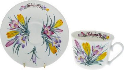 Чайная пара для завтрака Февраль, 500мл Roy Kirkham COFOTMF1101
