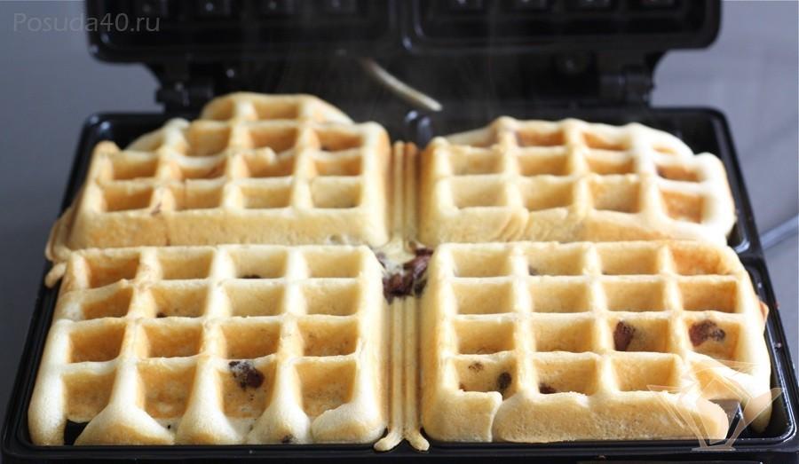 Вафли для вафельницы из творога