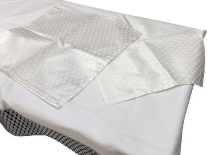 Набор салфеток 45x45, 6шт Кобальтовая сетка, Белая ИФЗ 14.01107.02