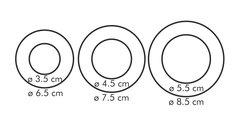 Двухсторонние формочки колечки, 6 размеров Tescoma DELICIA 630860