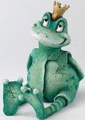 """Копилка """"Лягушка Король Мечтатель"""" (King Of Dreams Frog) 16.5см Enesco CA03510"""