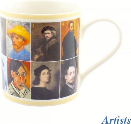 Кружка Знаменитые художники, 350мл Leonardo Collection LP92225