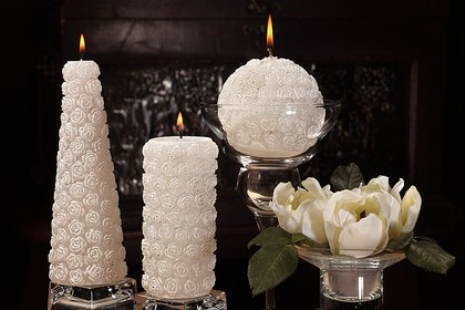 Свеча Мерседес конус 7х20см Bartek Candles 5907602664294