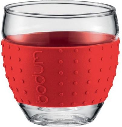 Бокалы Pavina, 2 шт. по 0,35л, красные, 11185-294