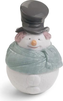 Шкатулка Снеговик (Deco Snowman) NAO 02001602