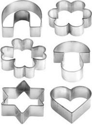 Формочки для печенья 6шт. на кольце Tescoma DELICIA 631380