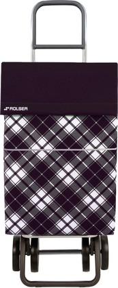 Сумка-тележка хозяйственная черная DOS+2 Rolser DML022negro