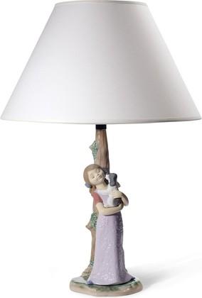 Лампа декоративная Ласковый Щенок (Puppy Cuddles) 35см NAO 02001771