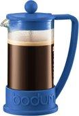 Кофейник с прессом 0.35л, синий Bodum BRAZIL 10948-842