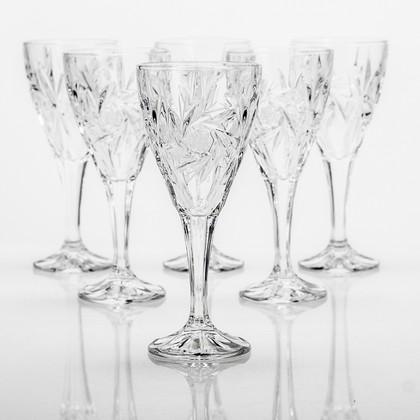 Фужеры для вина Эльза (ветренник) 170мл, 6 шт Crystalite Bohemia 1KD08/0/88327/170