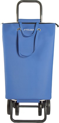 Сумка-тележка хозяйственная синяя Rolser LOGIC DOS+2 SUP002azul