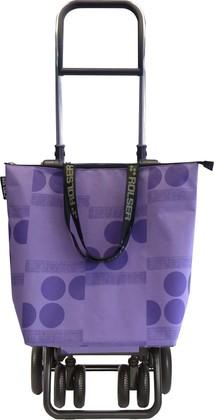 Сумка-тележка хозяйственная фиолетовая Rolser LOGIC TOUR MINI BAG MNB023malva