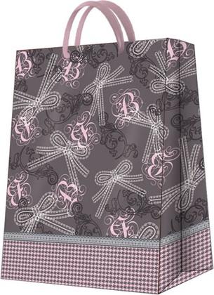 """Пакет подарочный """"Кружевные бантики"""" 30x41x12см Paw AGB018102"""