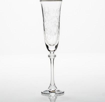 Фужеры для шампанского Александра 190мл, 6 шт Crystalite Bohemia 1SD70/190/375582K