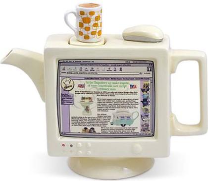 "Чайник коллекционный ""Пентиум"" (Computea Teapot) The Teapottery 4415"