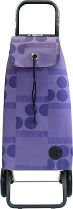 Сумка-тележка хозяйственная фиолетовая ROLSER Convert RG IMX043malva