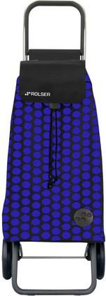 Сумка-тележка хозяйственная сине-чёрная Rolser LOGIC RG PAC011azul/negro