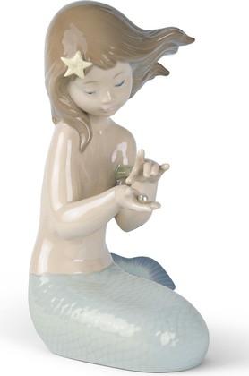Статуэтка фарфоровая Морская жемчужина (русалочка) (Jewel Of The Sea) 21см NAO 02001368