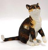 Статуэтка Кот сидящий, 13см Enesco CA01578
