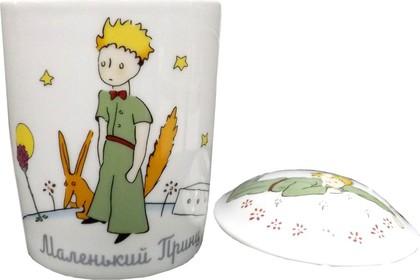 Бокал с крышкой Маленький принц, ф. Снежное утро ИФЗ 81.21334.00.1
