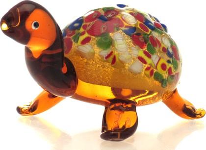 Фигурка стеклянная Черепаха 18x9см Top Art Studio ZB1507-TA