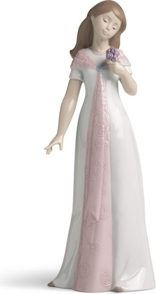 Статуэтка фарфоровая Элегантный букет (Elegant Pose) 25см NAO 02001570