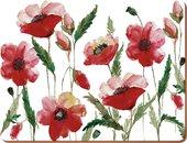 Подставки на пробке Цветочная идиллия 40х29см, 4шт Creative Tops 5176715