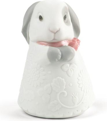 Статуэтка фарфоровая Кролик розовый (Little Bunny) 9см NAO 02005076