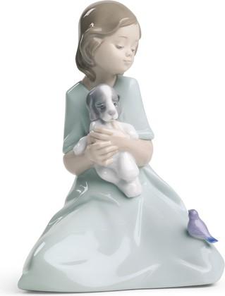 Статуэтка фарфоровая Мои маленькие друзья (My Little Companions) 18см NAO 02001575