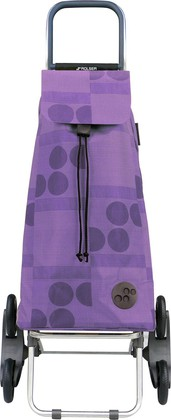 Сумка-тележка хозяйственная фиолетовая Rolser RD6 MOUNTAIN MOU041malva