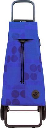 Сумка-тележка хозяйственная синяя Rolser RG MOU039azul