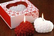 """Свеча """"Любовь навсегда"""" сердце 13cм Bartek Candles 5907602667059"""