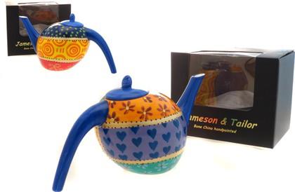 """Чайник заварочный  Япония """"Пэчворк"""", 15см Jameson & Tailor JT1730"""