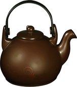 Чайник керамический, шоколад с декором, 15см 1.7л Ceraflame COLONIAL N5223849