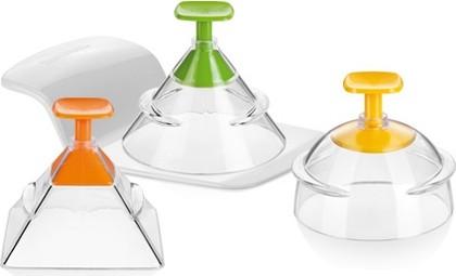 Формочки для придания продуктам 3D-формы, 3шт. Tescoma FoodStyle 422230
