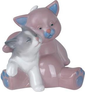 Статуэтка фарфоровая Кошкин друг (A Friend For Cuddles) 9см NAO 02001461