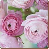 Подставки на пробке Розовые розы 29х29см, 4шт Creative Tops 5176734