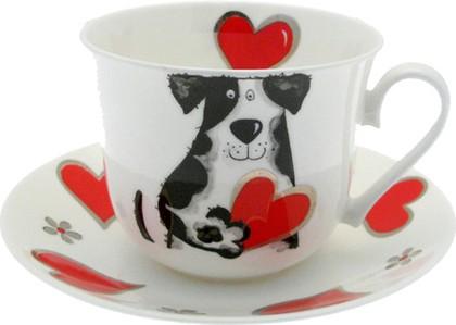 """Чайная пара для завтрака """"Любимые собаки"""" 500мл Roy Kirkham XMYLOVD1100"""