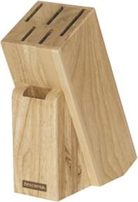 Подставка деревянная для 5 ножей и ножниц Tescoma Woody 869505