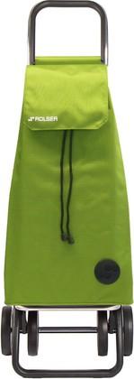 Сумка-тележка хозяйственная зелёный лайм Rolser DOS+2 MOUNTAIN MOU003lima