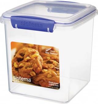 Контейнер для печенья 2.35л Sistema Klip It 1334