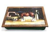 """Поднос с подушкой """"Лошадь и её друг"""" Creative Tops LT3660"""