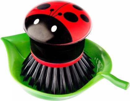 Щётка для посуды Vigar Ladybug 3319