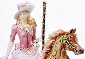 Статуэтка Летняя карусель, фарфор, 25см English Ladies ELGECH03250