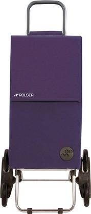 Сумка-тележка хозяйственная фиолетовая Rolser RD6 PARIS PAR001more