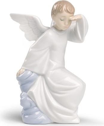 Статуэтка фарфоровая Ангел-хранитель II (Watching Over You) 15.5см NAO 02001597