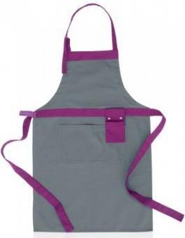 Фартук кухонный серый с фиолетовым Brabantia 620249