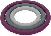 Набор из 3 подставок под горячее, серые с фиолетовым Brabantia 611766